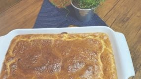 Torta de frango supercremosa