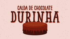 Calda de chocolate durinha