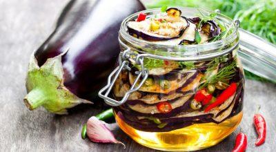 16 receitas de berinjela em conserva para provar esse preparo saboroso