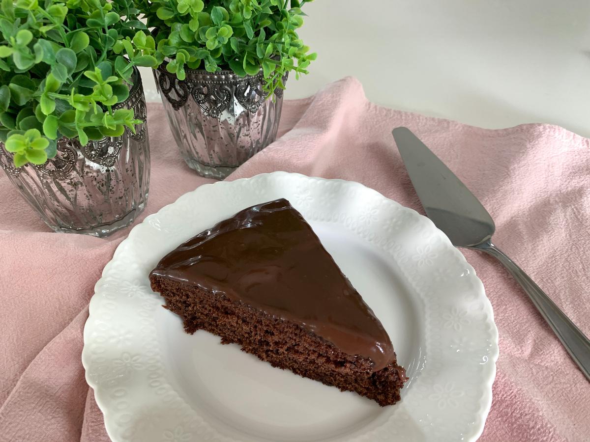 Bolo de chocolate de frigideira