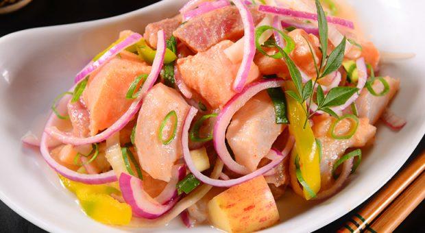 19 receitas de ceviche de salmão que são refrescantes e irresistíveis
