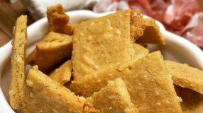 Cracker de grão-de-bico