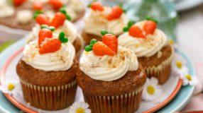 10 receitas de cupcake de cenoura que são puro charme