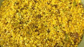 Farofa de sementes low carb