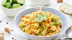 15 receitas de arroz à grega de Natal para uma ceia completa e especial