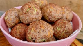 Kibe de carne com legumes