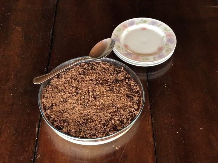 Mousse de limão com chocolate - Passo a passo