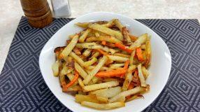 Palitos de legumes crocantes