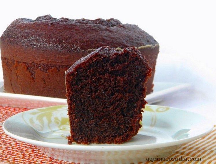 7 Melhores Receitas De Bolo De Chocolate De Liquidificador