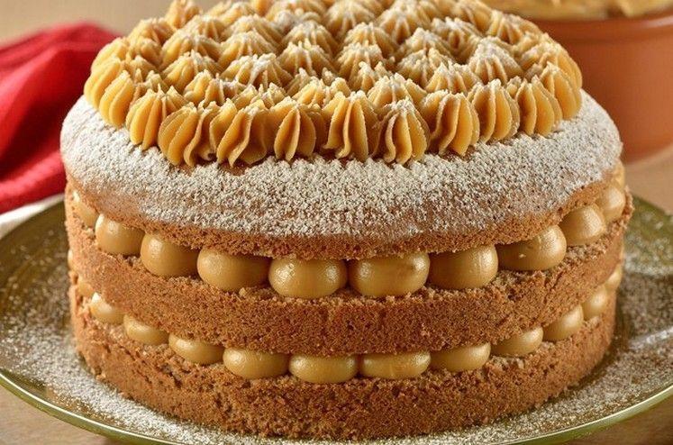 melhor bolo de baunilha