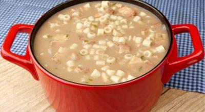 12 receitas de sopa de feijão com macarrão para saborear em qualquer estação