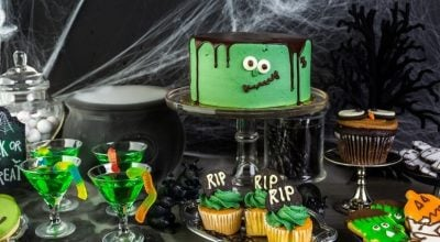 20 receitas de bolo Halloween para saborear gostosuras aterrorizantes