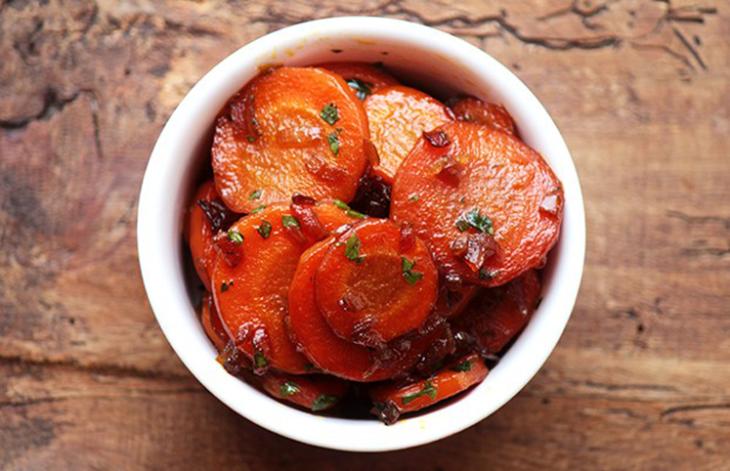 Resultado de imagem para Cenouras com mel e gengibre