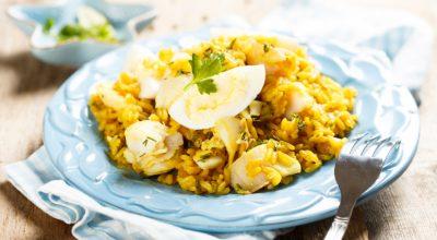 12 receitas de arroz com bacalhau que você tem que provar
