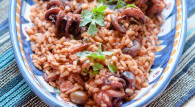 12 receitas de arroz de polvo para uma refeição refinada e especial