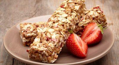 23 receitas de barrinha de cereal para lanches saudáveis e nutritivos