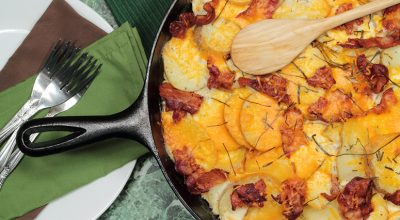 8 receitas de batata gratinada com bacon para um jantar especial