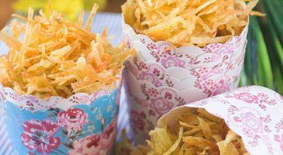 5 receitas de batata palha caseira para acompanhar diferentes pratos