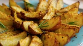 8 receitas de batata rústica na airfryer superpráticas e saborosas