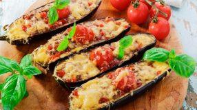 22 receitas de berinjela recheada para saborear pratos leves e gostosos