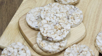 6 receitas de biscoito de arroz para um lanche saudável e delicioso