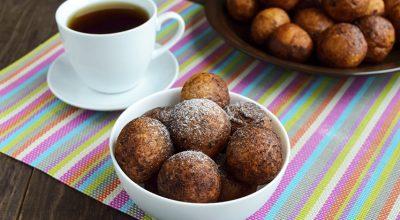 6 receitas de bolinho de chuva low carb para tardes saudáveis e deliciosas