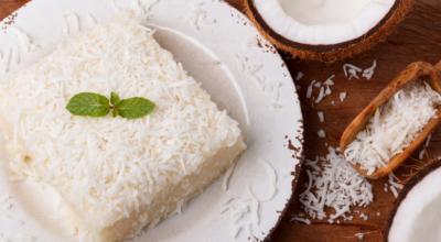 10 receitas de bolo com leite de coco que são simplesmente irresistíveis