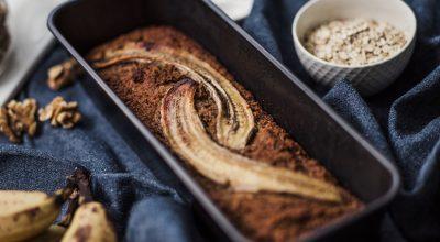20 receitas de bolo de banana com aveia para uma vida doce e saudável