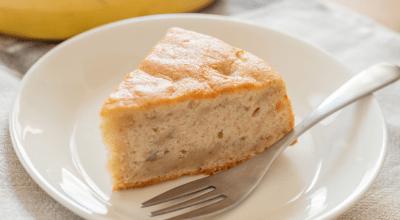 10 receitas de bolo de banana de frigideira para saborear em poucos minutos