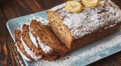 14 receitas de bolo de banana fácil que você vai amar de paixão