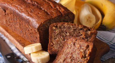 13 receitas de bolo de banana sem leite perfeito para a hora do lanche