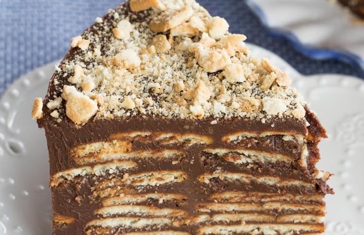 Amado 14 receitas de bolo de bolacha que vão deixar o seu dia mais doce FI33