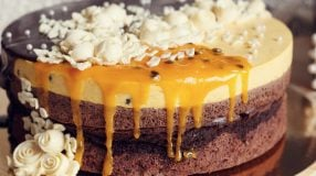 12 receitas de bolo de chocolate com mousse de maracujá deliciosas