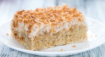12 receitas de bolo de coco low carb que não passam despercebidas