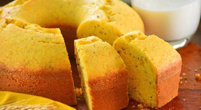 11 receitas de bolo de fubá com erva-doce com gostinho de aconchego