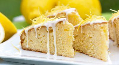 20 receitas de bolo de limão com iogurte para adoçar e equilibrar a vida