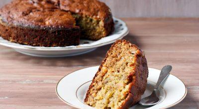 18 receitas de bolo de maçã com aveia para momentos especiais