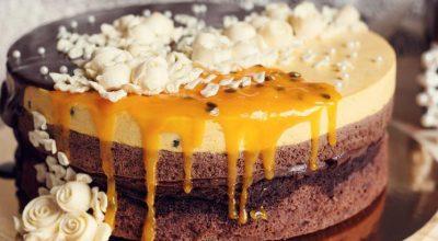 22 receitas de bolo de maracujá com equilíbrio perfeito do doce e do azedinho