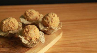 13 receitas de brigadeiro de paçoca para inovar nesse doce tradicional