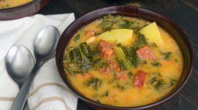 9 receitas de caldo de mandioca com carne-seca cremosas e saborosas