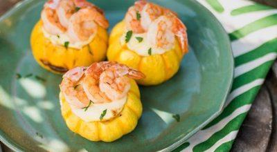 15 receitas de camarão na moranga para enlouquecer os fãs de frutos do mar