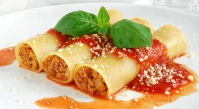 30 receitas de canelone tipicamente italianas e muito deliciosas