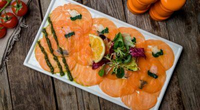 8 receitas de carpaccio de salmão que vão roubar a cena