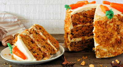 10 receitas de carrot cake para um bolo tipicamente americano
