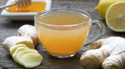 9 receitas de chá de gengibre com limão para degustar a qualquer hora