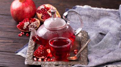 8 receitas de chá de romã que prometem ficar deliciosas