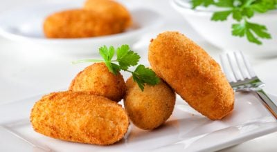 13 receitas de croquete de frango para preparar salgados irresistíveis