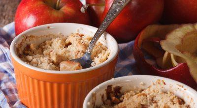 24 receitas de crumble de maçã simples e carinhosas na medida certa