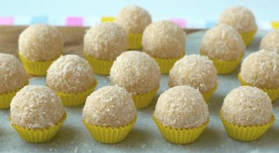 12 receitas de docinho de coco que são uma explosão de sabores