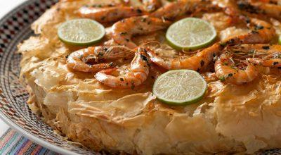 10 receitas de empadão de camarão deliciosos com gostinho de mar